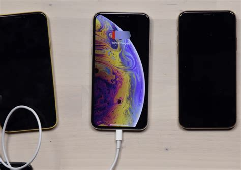apple iphone xs charge gate doesn t detect lightning charging cable mashew