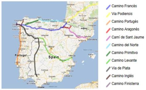 camino de santiago pilgrimage route which pilgrimage route on the camino de santiago
