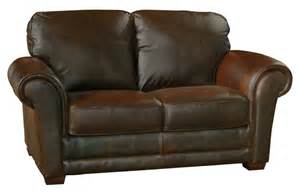 Leather Sofa Loveseat Leather Loveseat By Luke Leather Furniture