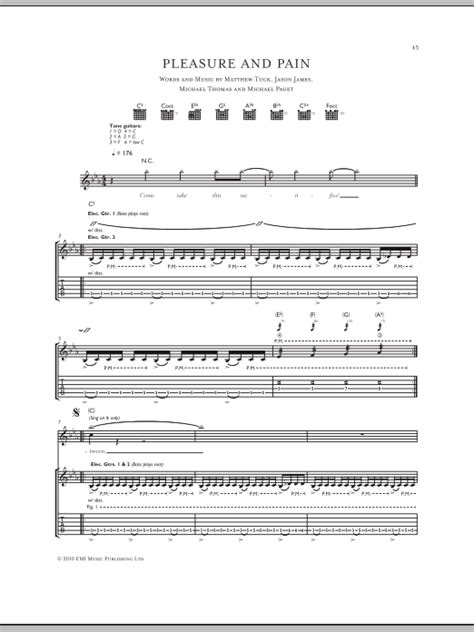 pleasure and bullet for my pleasure and by bullet for my guitar tab