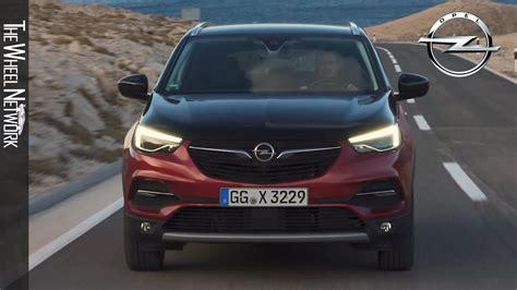 Opel Grandland 2020 by 2020 Opel Grandland X Hybrid4 Phev Driving Exterior