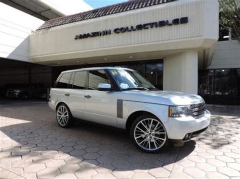 range rover financing find used 2010 silver land rover range rover suv financing