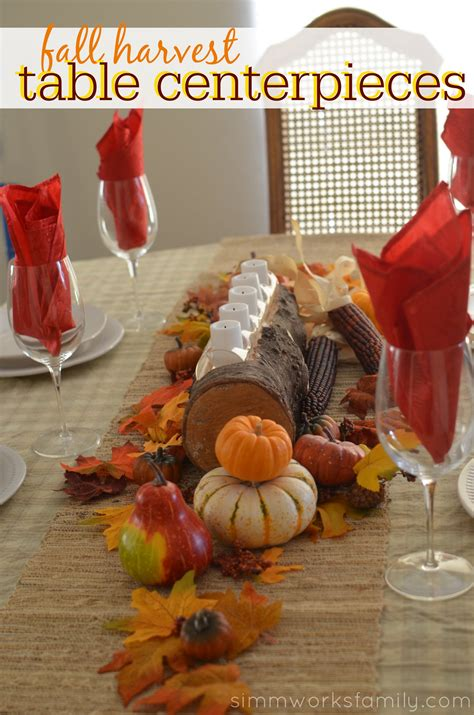 fall dining table centerpieces fall harvest table centerpieces images