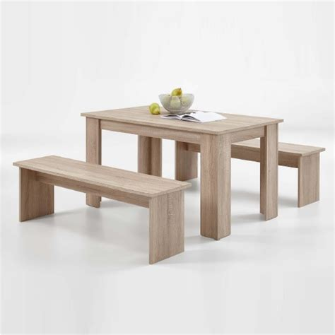 dining benches canada darwin dining table in canadian oak with 2 dining benches