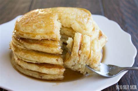 Handmade Pancakes - pancakes bread booze bacon