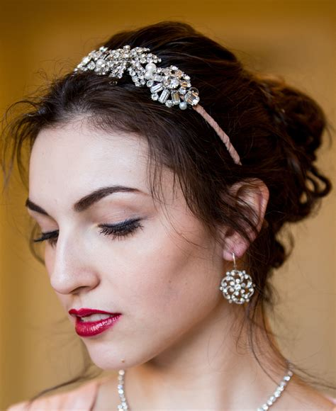 Vintage Wedding Hair Designs by Vintage Headpiece Krausz Jewellery