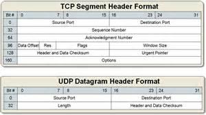 tcp segment vs udp datagram header format it tips for