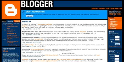 blogger com evolution of blogger 1999 2012 umer prince