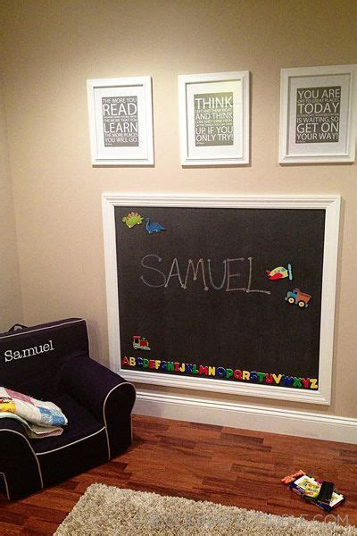 chalkboard paint ideas for playroom 17 best ideas about magnetic chalkboard on