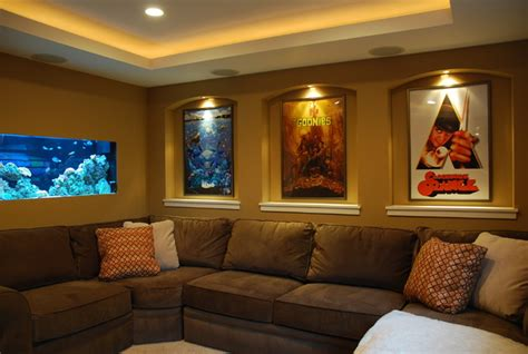 Small Modern Home Theater Small Home Theater Contemporary Home Theater