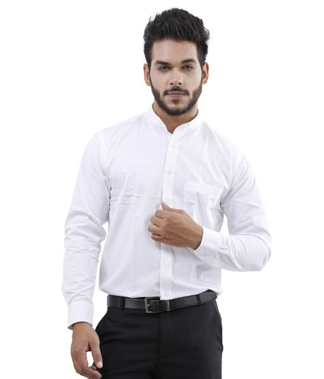 White Shirt Price by Lamode White Formal Shirt Buy Lamode White Formal Shirt At Best Prices In India On Snapdeal