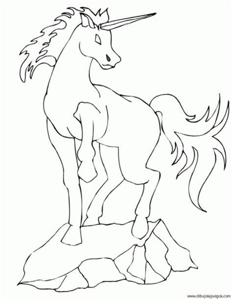 unicornio imagenes para pintar dibujo de unicornio 004 dibujos y juegos para pintar y