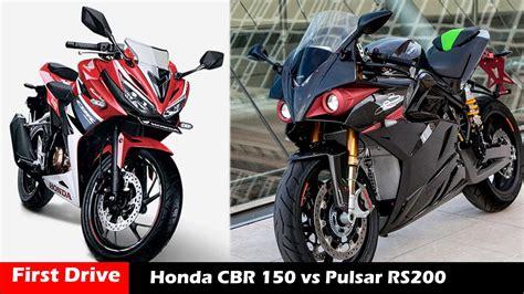Pulser Honda new honda cbr 150 vs bajaj pulsar 200rs compare drive