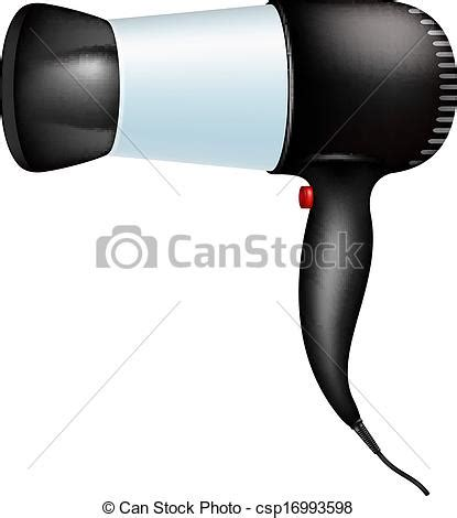 Hair Dryer Stock Clip eps vectors of electric hair dryer isolated on white background csp16993598 search clip
