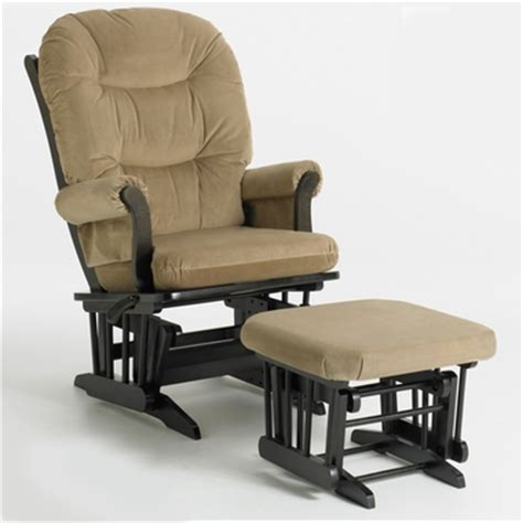 dutailier glider and ottoman set dutailier espresso sleigh glider multiposition and ottoman