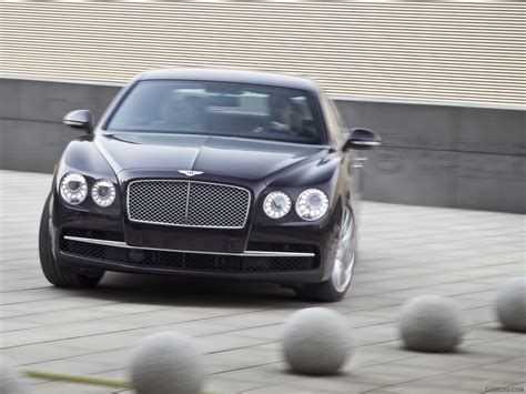 Damson Bentley 2014 Bentley Flying Spur Damson Front Hd Wallpaper 2