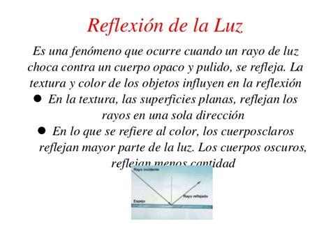 imagenes de la reflexion fisica la reflexi 243 n absorci 243 n y refracci 243 n de la luz