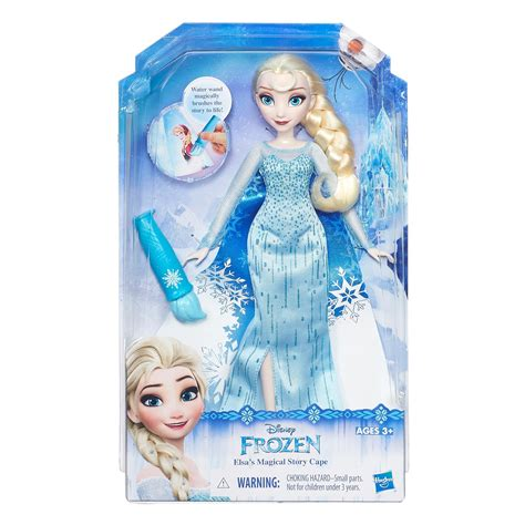 Lele 79278 By Indo Toys disney frozen elsa s magical story cape doll