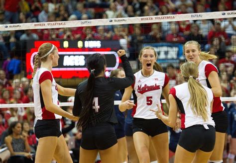 printable nebraska volleyball schedule husker volleyball announces 2015 schedule texas oregon
