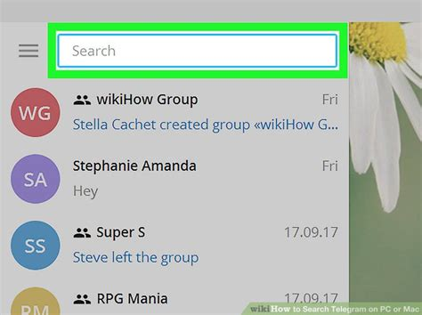 How To Search For On Telegram How To Search Telegram On Pc Or Mac 5 Steps With Pictures