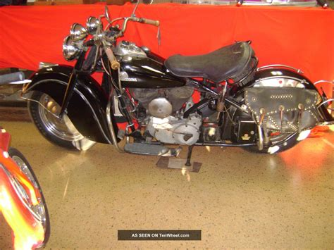 1946 indian chief paint unrestored motorcycle