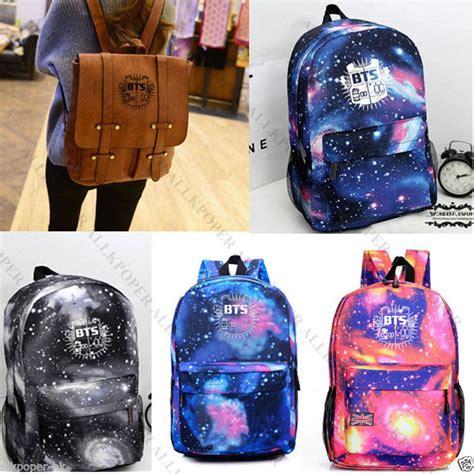 Backpack Btskpop kpop bts starry sky satchel backpack bangtan boys bag schoolbag jung kook suga v ebay