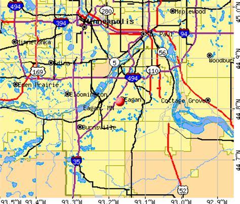 zip code map eagan mn eagan minnesota mn profile population maps real
