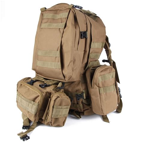 tactical back packs outdoor molle assault tactical backpack large rucksack backpack bag usa ebay