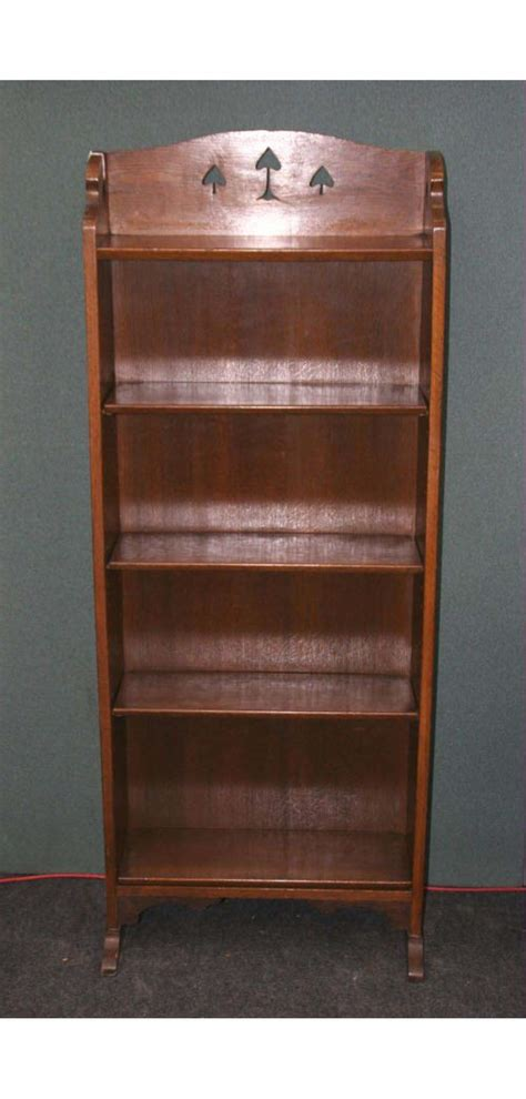arts and crafts bookshelves arts and crafts liberty oak bookcase antiques atlas