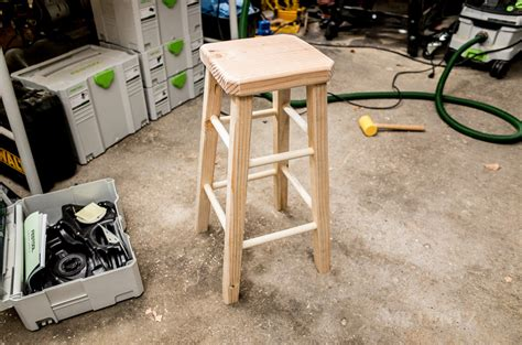 how to build wooden bar stools how to make a bar stool diy day 1 mr lentz leather goods