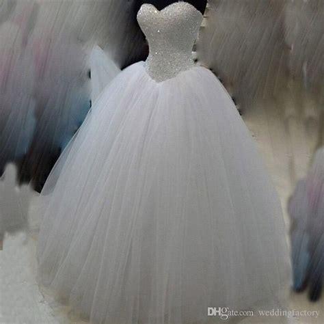 Bling Ball Gownrset Puffy  Ee  Wedding Ee   Dress Beades Sequins