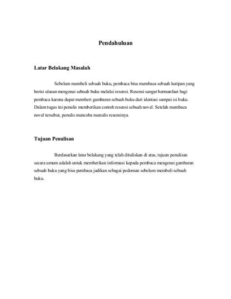 Mata Yang Memberi Azhar Buku Bahasa Indonesia Sastra B56 tugas resensi novel