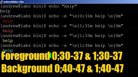 bash echo color bash echo color echo colors cheatsheet 183 github
