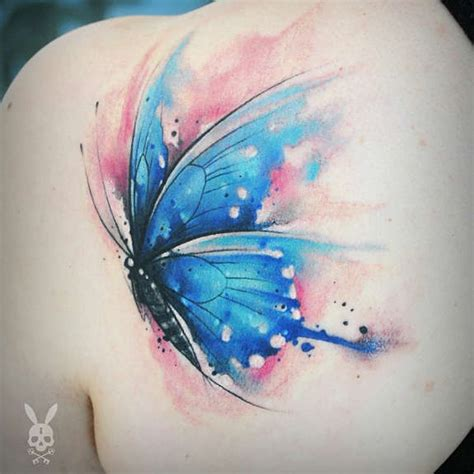 tattoo butterfly watercolor 27 pleasant butterfly shoulder tattoos and designs