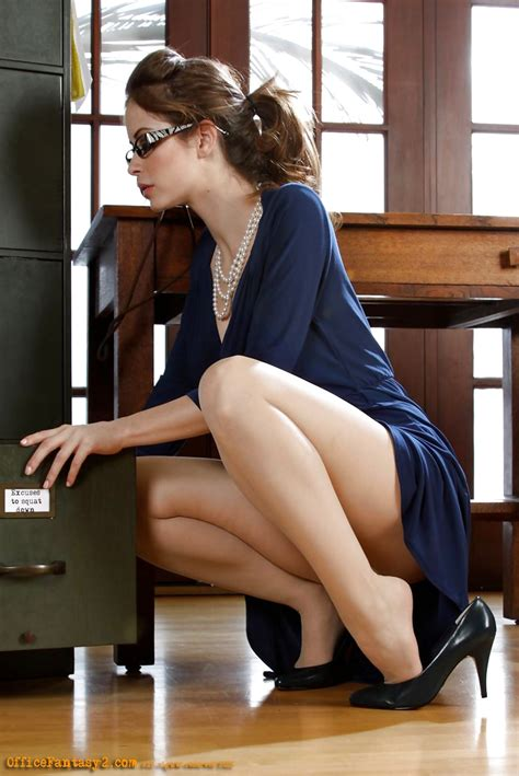 secretary bent over her desk crazy about feet photo sexy office look pinterest