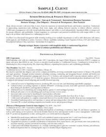 Sle Resume Finance Executive Experience 1 Yr Exles Resume Objective Statement Ceo Resume Template Word Construct A Resume A