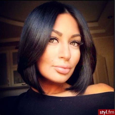 short haircuts middlelobe the 25 best ideas about middle part bob on pinterest