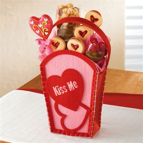 valentine day gift valentine s day gift bag gourmet food gifts harry david