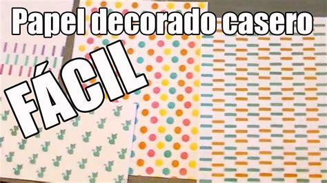 Como Decorar Una Cartulina Para Un Proyecto   decorar cartulina para tus proyectos de scrapbook f 225 cil