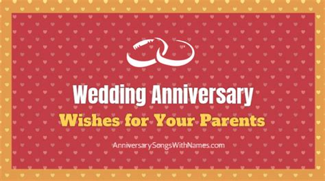 Wedding Anniversary Song For Parents by Wedding Anniversary Wishes Images For Your Parents