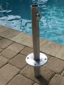 Patio Umbrella Ground Insert Base Quot Umbrella Sleeve Quot 8 Quot Deck Insert Umbrella In Ground