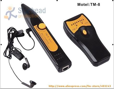 aliexpress buy tm 8 multi purpose network cable tester rj45 rj11 wire phone telephone