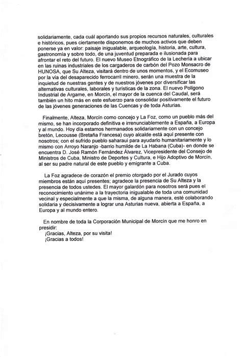 discurso despedida 5to ao file discurso de agradecimiento del alcalde de morc 237 n 2002