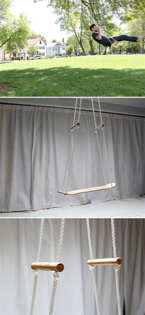 homemade swinging video 1000 ideas about skateboard swing on pinterest swing