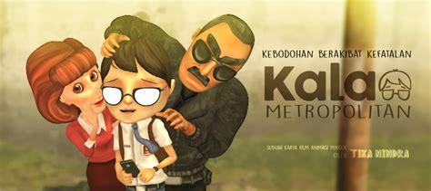 film animasi komedi the making of kala metropolitan