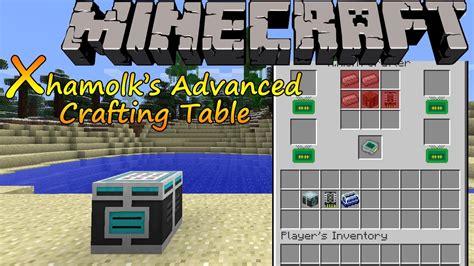 Advanced Crafting Table by Minecraft 1 6 2 Xhamolk S Advanced Crafting Table