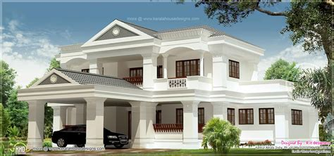 3100 Sq Feet Luxury 5 Bhk Villa Exterior House Design Plans
