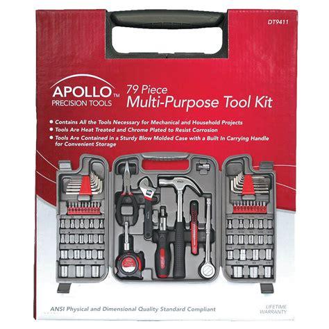 Kit Multi Purpose apollo 79 multi purpose tool kit
