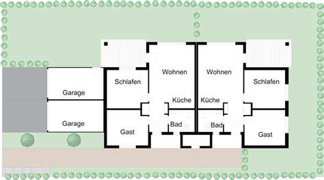 Grundriss Doppelhaus Ebenerdig by Wohnpark Weimar