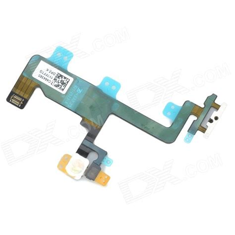 On Button Switch Flash Flex Cable Replacement For Iphone 6 replacement repair parts power lock button flex cable w flash light for iphone 6 4 7 quot black